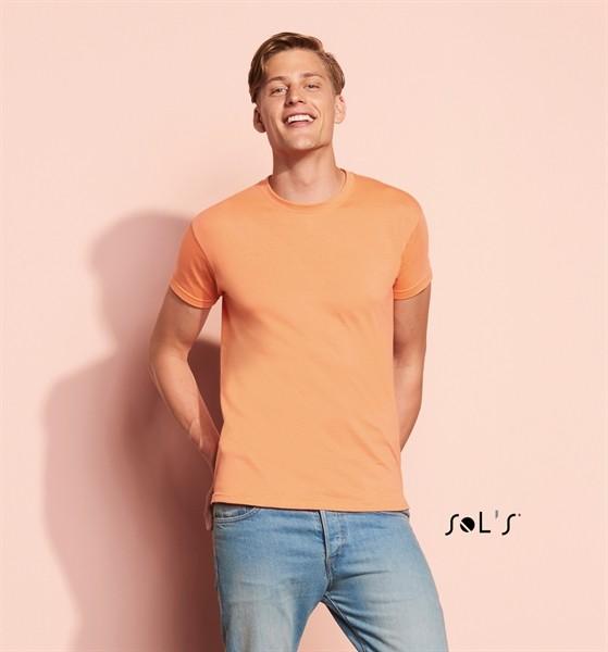 Camiseta unisex cuello redondo